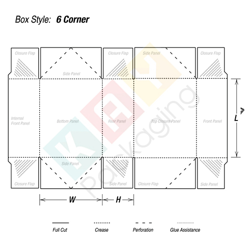 Regular Six Corner