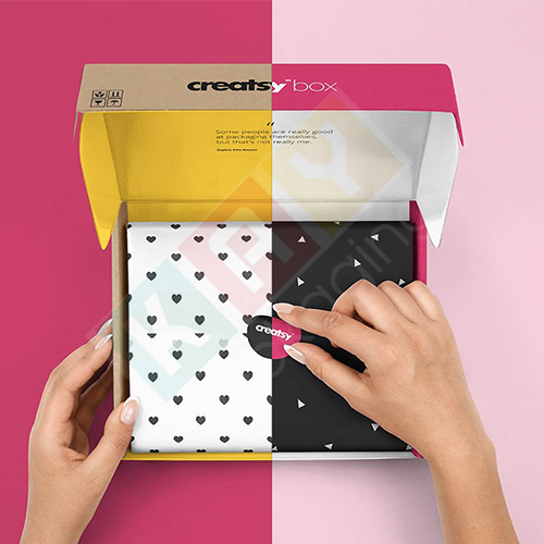 Colorful Mailer Boxes